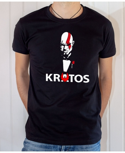 Tee-shirt Game : God of War, Kratos 2