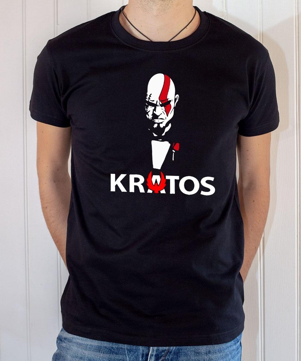 Tee-shirt Game : God of War, Kratos 2