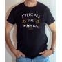 Tee-shirt humour : J'peux pas j'ai whisky