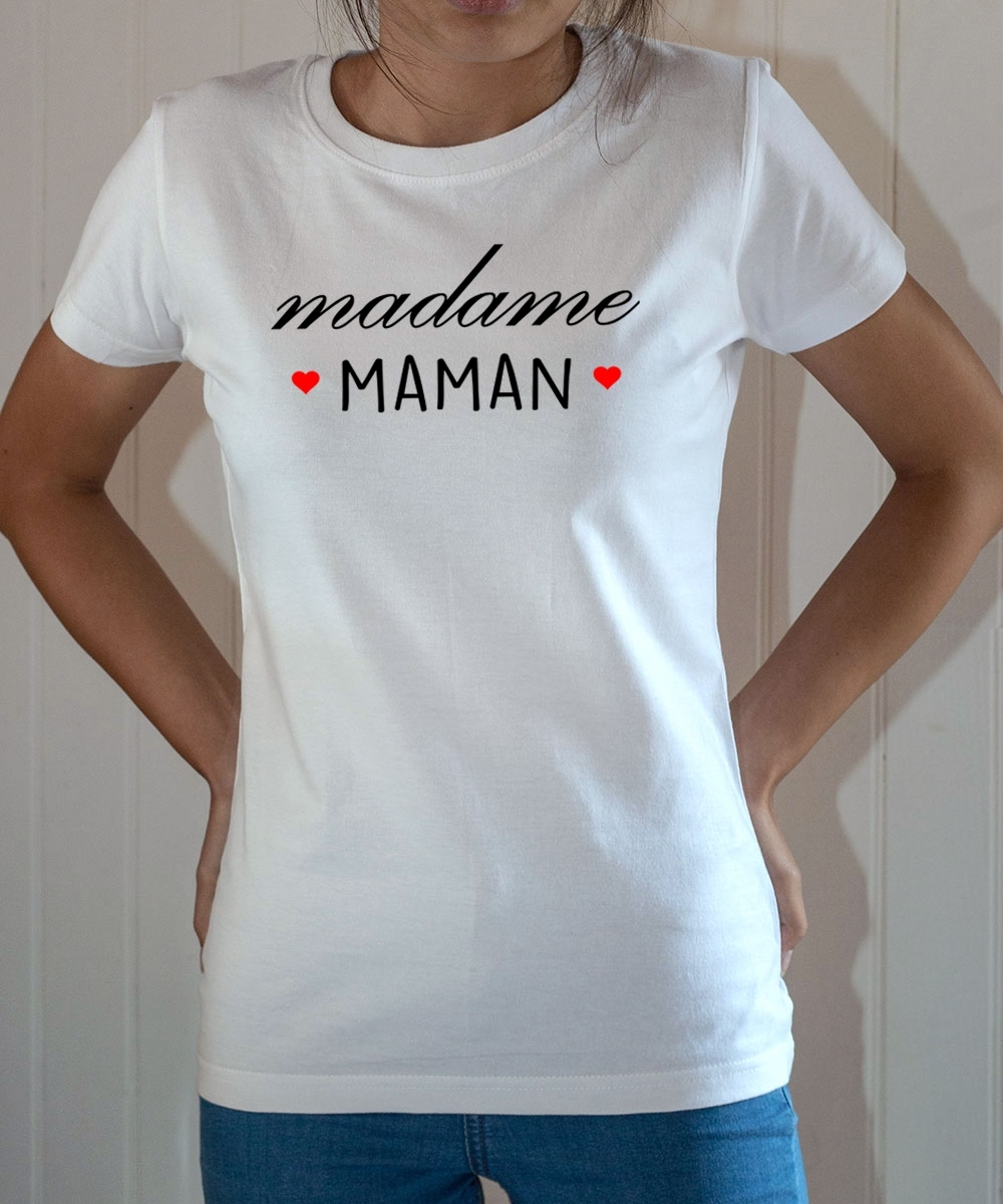 Tee-shirt famille : Madame Maman