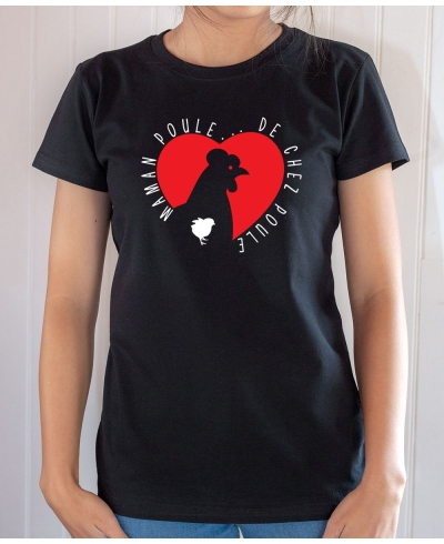 Tee-shirt Famille : Maman poule