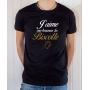 T-shirt OSS 117 : J'aime me beurrer la biscotte (logo) - Tee-shirt noir homme