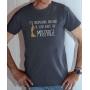 T-shirt OSS 117 : L'inexpugnable arrogance de votre beauté - Tee-shirt gris homme