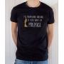 T-shirt OSS 117 : L'inexpugnable arrogance de votre beauté - Tee-shirt noir homme