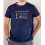 T-shirt OSS 117 : L'inexpugnable arrogance de votre beauté - Tee-shirt bleu marine homme