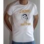 T-shirt OSS 117 : J'aime me battre (logo Dujardin) - Tee-shirt blanc homme