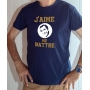 T-shirt OSS 117 : J'aime me battre (logo Dujardin) - Tee-shirt bleu marine homme
