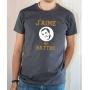T-shirt OSS 117 : J'aime me battre (logo Dujardin) - Tee-shirt gris homme