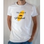 T-shirt OSS 117 : Un petit coup de polish - Tee-shirt blanc homme