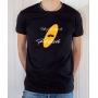 T-shirt OSS 117 : Un petit coup de polish - Tee-shirt noir homme