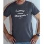 T-shirt OSS 117 : Comment est votre blanquette - Tee-shirt gris homme