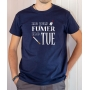 T-shirt OSS 117 : Ne pas fumer me tue - Tee-shirt bleu homme