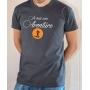 T-shirt OSS 117 : Je suis une Aventure (Logo OSS) - Tee-shirt gris Homme