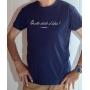 T-shirt OSS 117 : Quelle drôle d'idée - Tee-shirt bleu marine homme