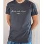 T-shirt OSS 117 : Quelle drôle d'idée - Tee-shirt gris homme