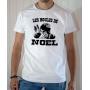 T-shirt OSS 117 : Les boules de Noël - Tee-shirt blanc homme