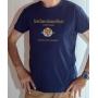 T-shirt OSS 117 : SCEP Société Cairote d'Élevage de Poulets - Tee-shirt bleu homme