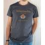 T-shirt OSS 117 : SCEP Société Cairote d'Élevage de Poulets - Tee-shirt gris homme