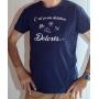 T-shirt OSS 117 : C'est ça une dictature Dolorès - tee-shirt bleu marine homme