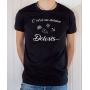 T-shirt OSS 117 : C'est ça une dictature Dolorès - tee-shirt noir homme