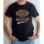 T-shirt Chasse Humour : Tous les hommes naissent égaux mais les meilleurs deviennent chasseurs - Tee-shirt noir homme