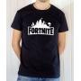 T-shirt Jeux Vidéo : Logo Fortnite - Tee-shirt homme noir