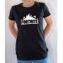 T-shirt Jeux Vidéo : Logo Fortnite - Tee-shirt femme noir