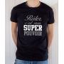 T-shirt Humour : Râler c'est mon Super Pouvoir - Tee-shirt noir homme