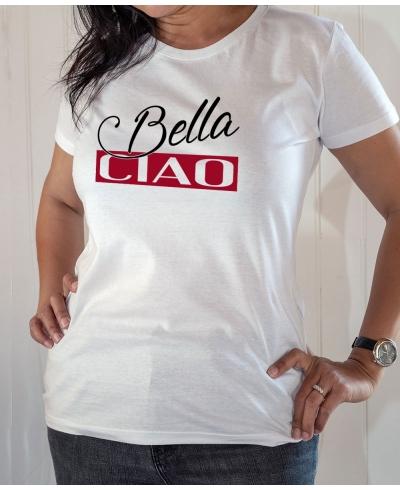 T-shirt série Casa de Papal : Bella Ciao - Tee-shirt femme blanc