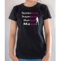 T-shirt Super heros Maman