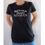 T-shirt humour : Demande à Maman