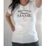 T-shirt humour : Demande à Mamie blanc