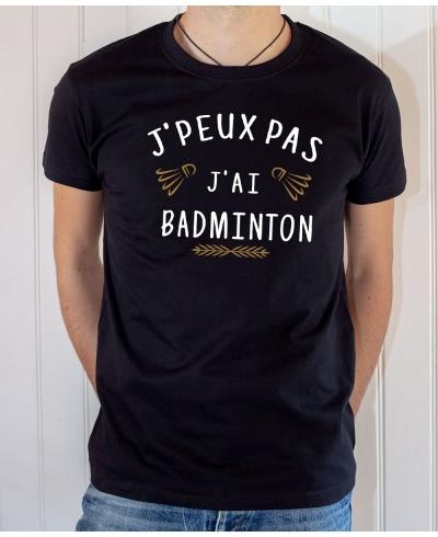 J'peux pas j'ai Badminton