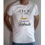 T-shirt Humour : Pas le temps, je suis à la retraite (Avec pêcheur) - Tee-shirt blanc